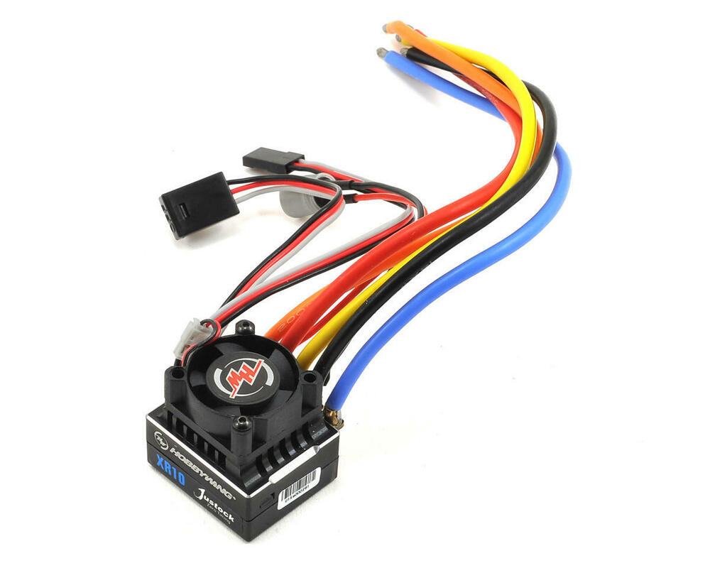 Hwa30112000 hobbywing xerun xr10 justock 1 10 sensored for 10 5 t brushless motor