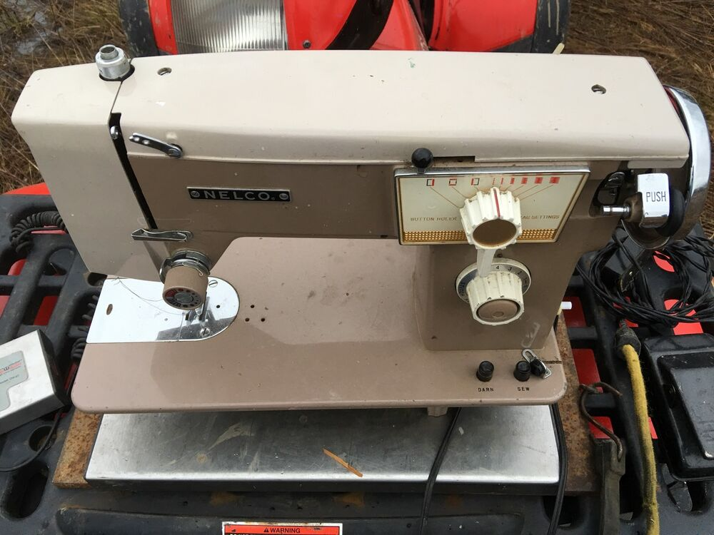 Nelco Sewing Machine EBay Impressive How To Thread A Vintage Nelco Sewing Machine