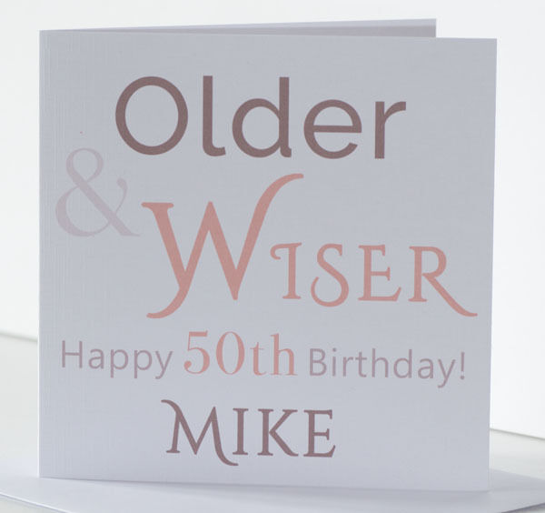 Details About Age Birthday Card Husband Son Brother Dad Grandad 18th 21st 30th 40th 50th 60th