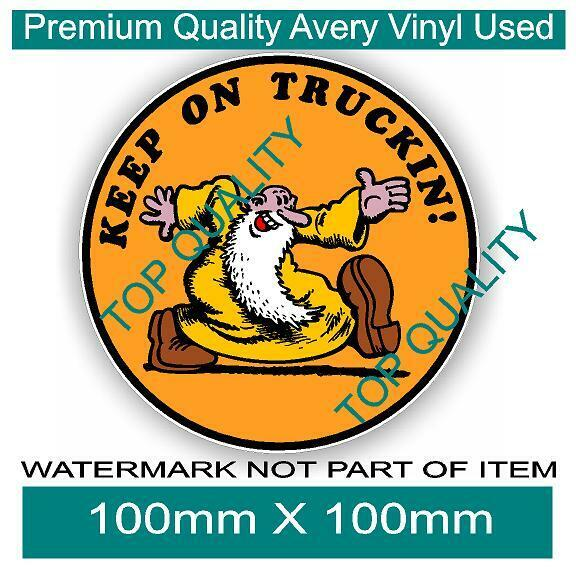 Keep On Truckin Decal Sticker Vintage Car Truck Hot Rod Rat Rod Decals Stickers Ebay