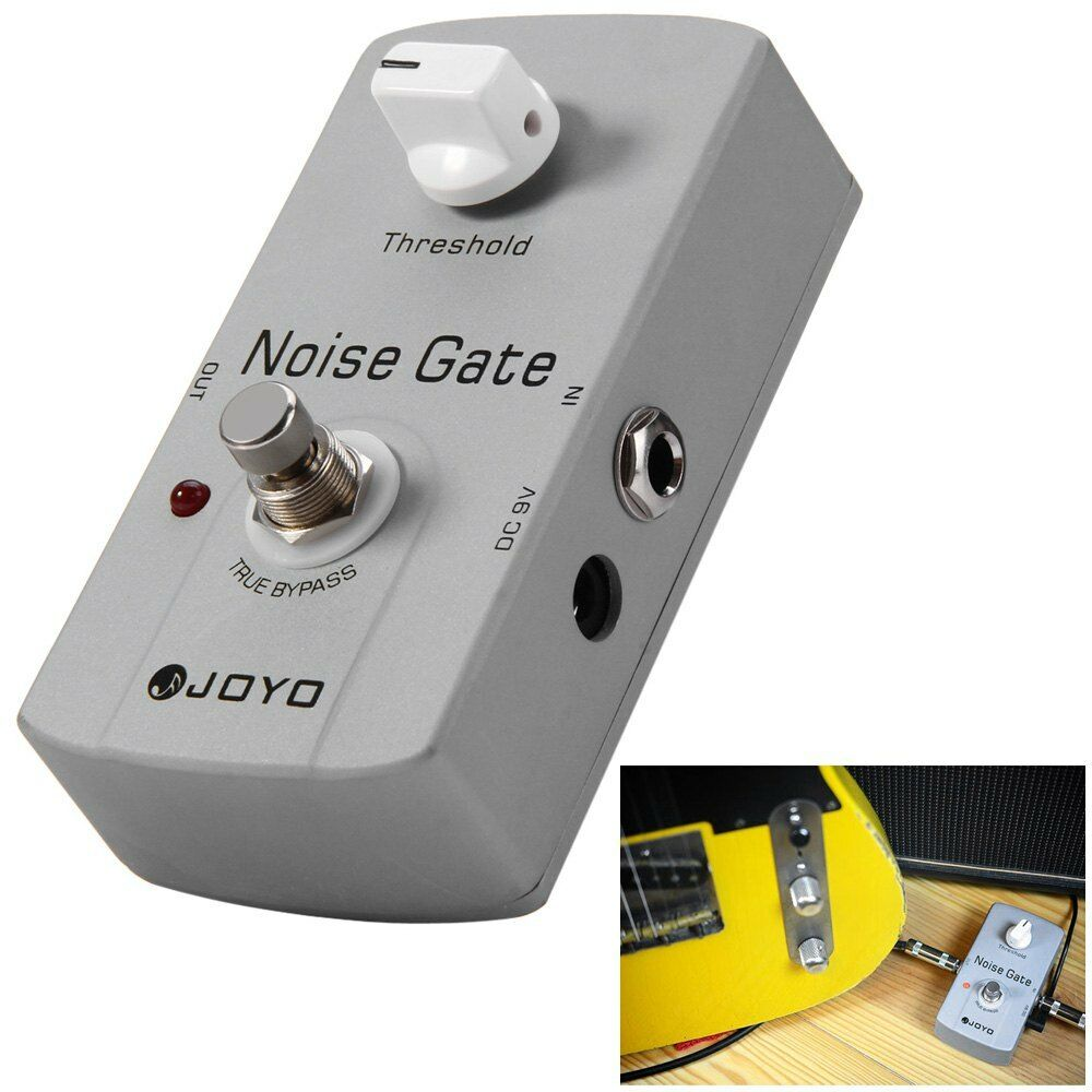 joyo jf 31 true bypass design electric guitar noise gate effect pedal ebay. Black Bedroom Furniture Sets. Home Design Ideas