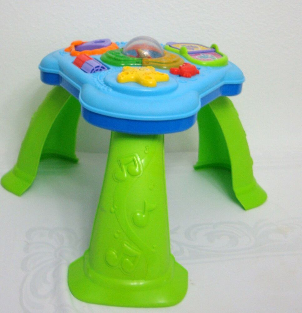 Fisher price lights sound activity table ebay - Table activite fisher price ...