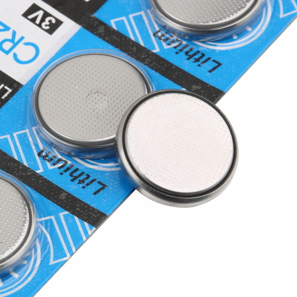 new arrival 5pcs lots cr2032 3 volt coin button cell battery for watch remote ebay. Black Bedroom Furniture Sets. Home Design Ideas