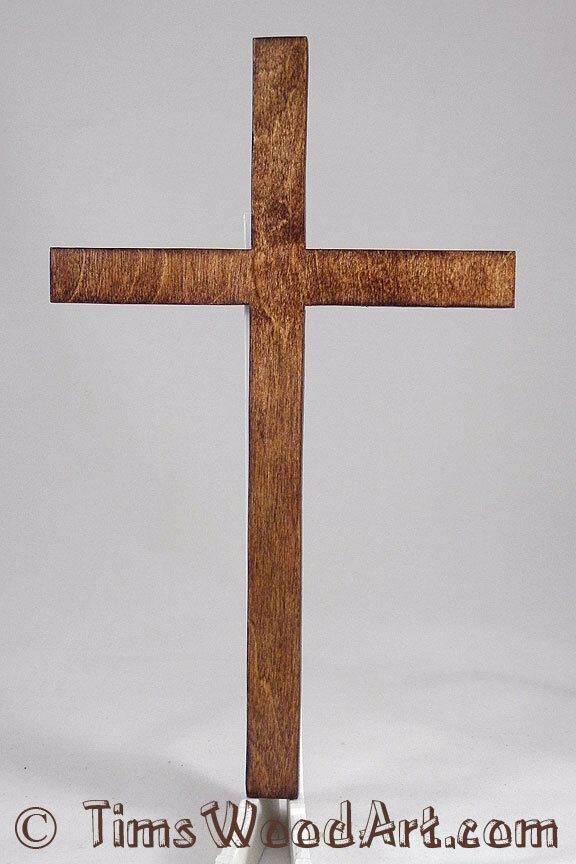 christian cross large 11 inch wood cross for wall