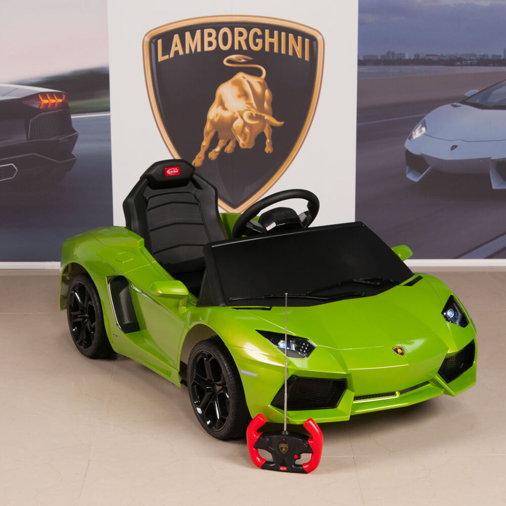 Lamborghini Electric Car For Kids >> Lamborghini Kids Ride On Car Battery Power Wheels w/ Remote Green LP700-4 | eBay