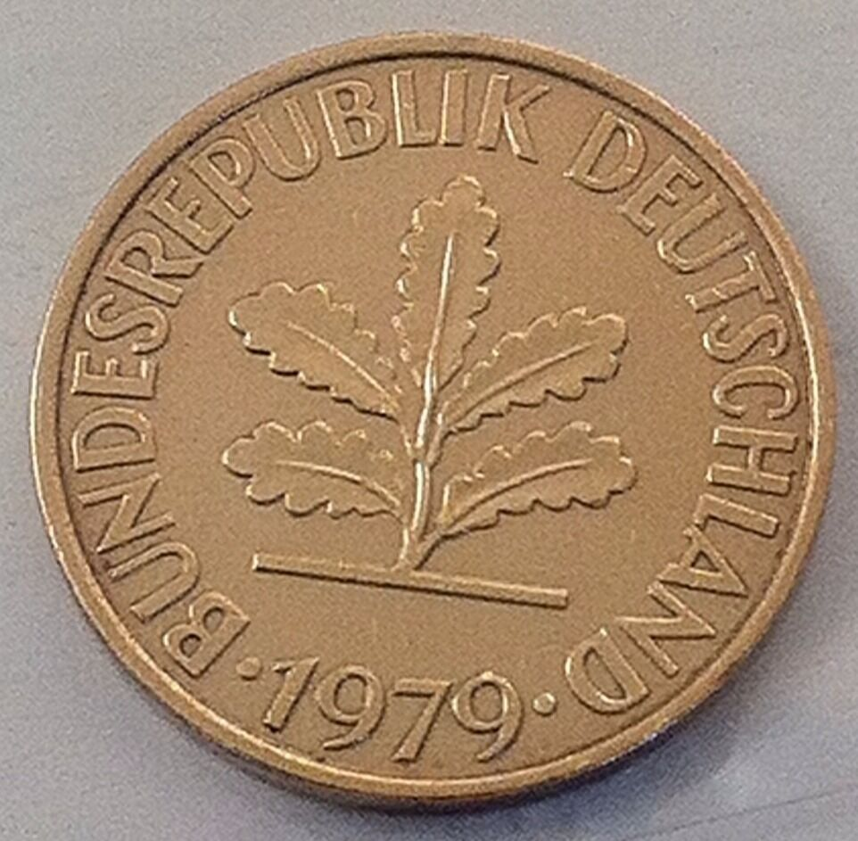 10 pfennig bundesrepublik deutschland 1979 ebay. Black Bedroom Furniture Sets. Home Design Ideas