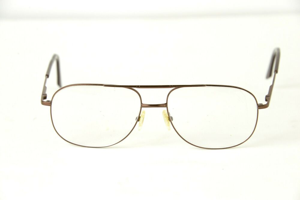 Copper Brown Metal Wire Frame Eyeglasses Glasses Hipster ...