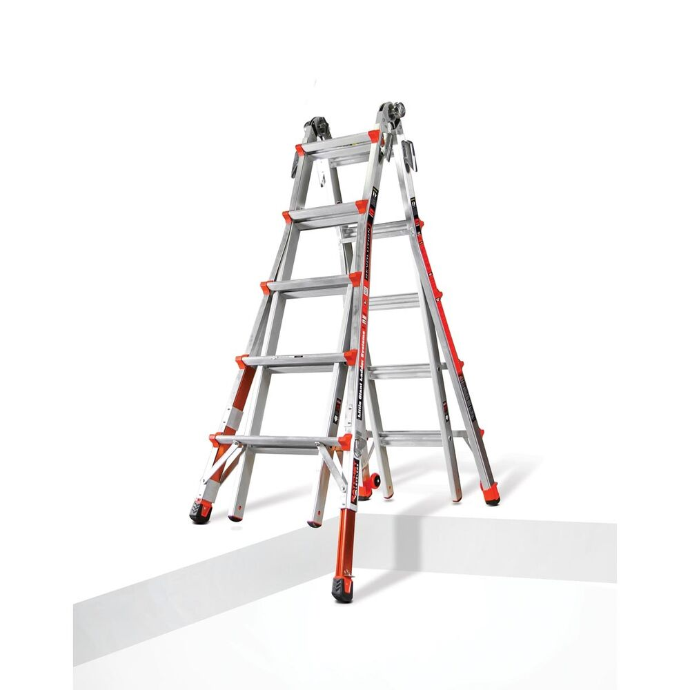 Little Giant Ladder Type 1a Revolution W Ratchet Levelers