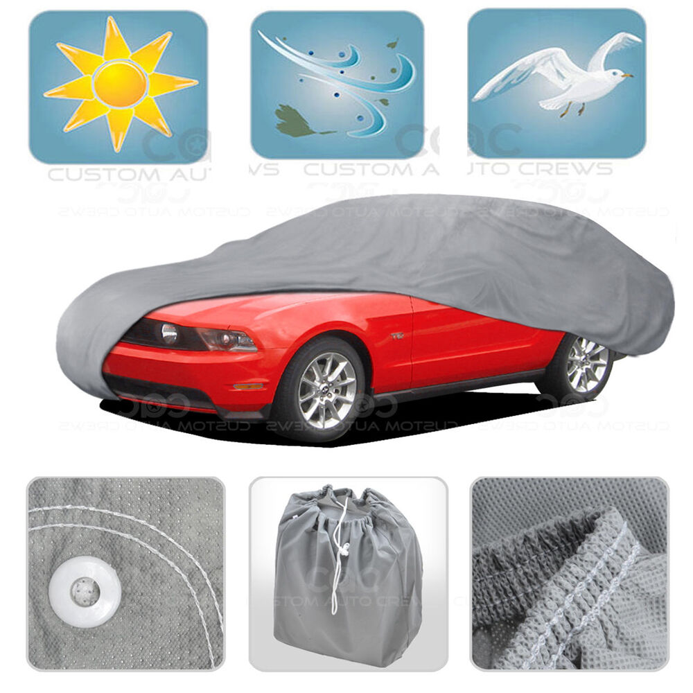 XL Car Cover MAX Auto Protection Sun Dust Proof Outdoor