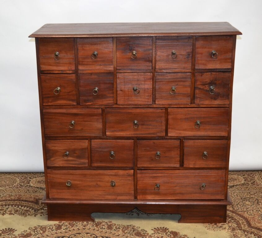 antique pine apothecary chest of drawers free delivery 87908