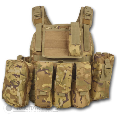 img-MTP MULTICAM SECTION COMMANDERS ASSAULT VEST BRITISH ARMY STYLE MILITARY