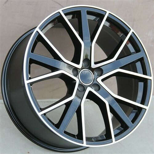 "SET(4) 20"" 20X9 5X112 WHEELS FIT NEW RS STYLE AUDI A4 S4"