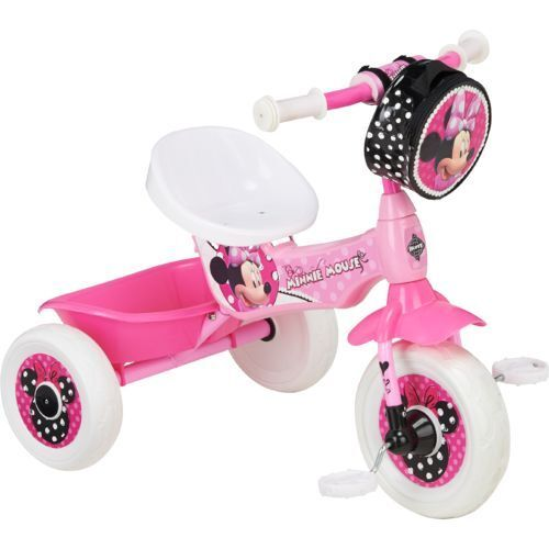 Minnie Mouse Toys For Toddlers : Huffy girls trike bike kids toddler minnie mouse tricycle