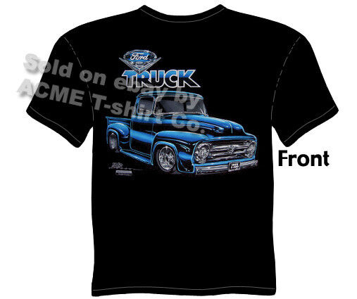 ford shirt truck tee shirts 1956 f 100 pickup t shirt 56. Black Bedroom Furniture Sets. Home Design Ideas