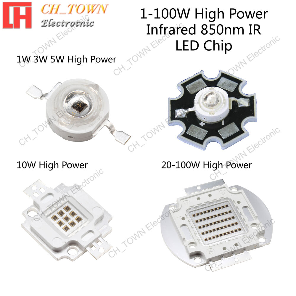 Infrared 850nm Ir 1w 3w 5w 10w 20w 30w 50w 100w High Power
