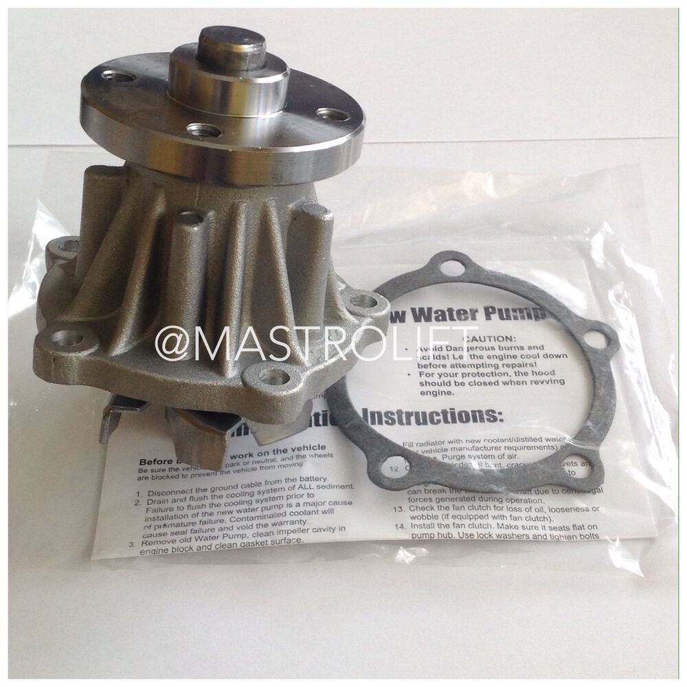 TOYOTA WATER PUMP 16120-7815171 FIT 4Y ENGINE 5 & 6 SERIES