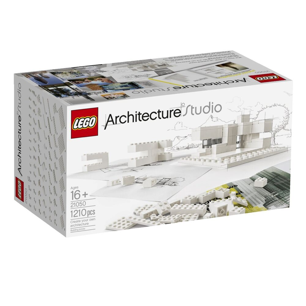 lego architecture studio 21050 playset unisex building toy set 6097683 white ebay. Black Bedroom Furniture Sets. Home Design Ideas