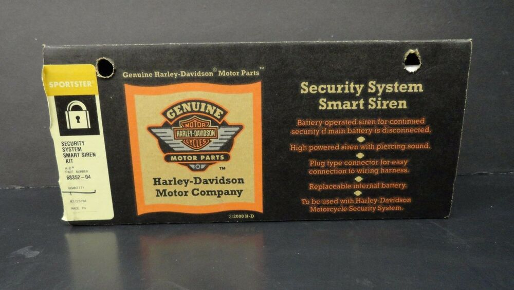 Harley Davidson Smart Siren Security System Kit For