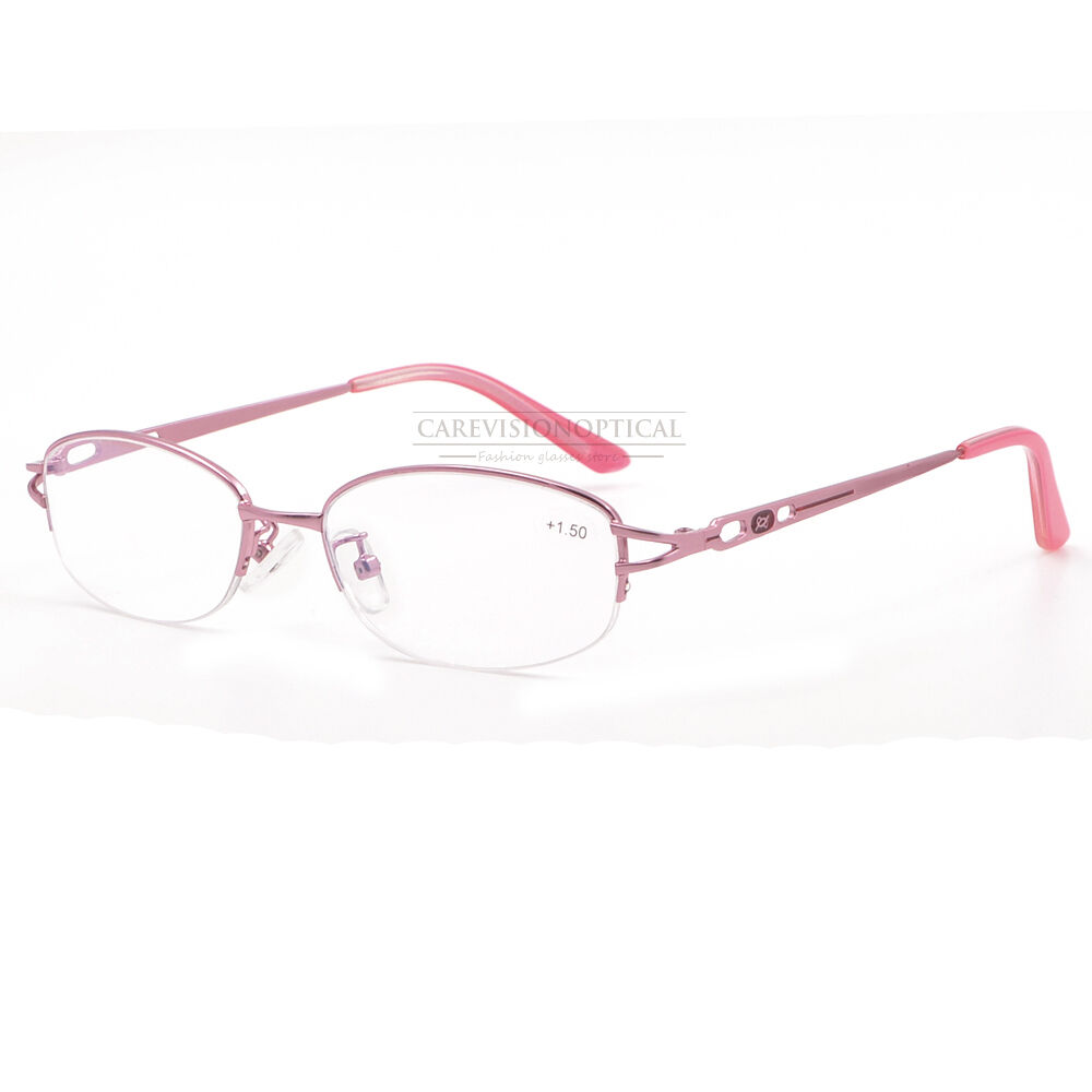 new s metal half rimless reading glasses coating