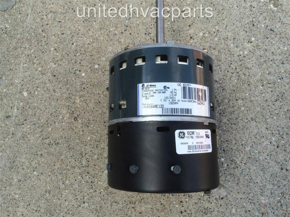 Ge 5sme39hl0240 carrier bryant hd44re120 variable speed for Variable speed ecm motor