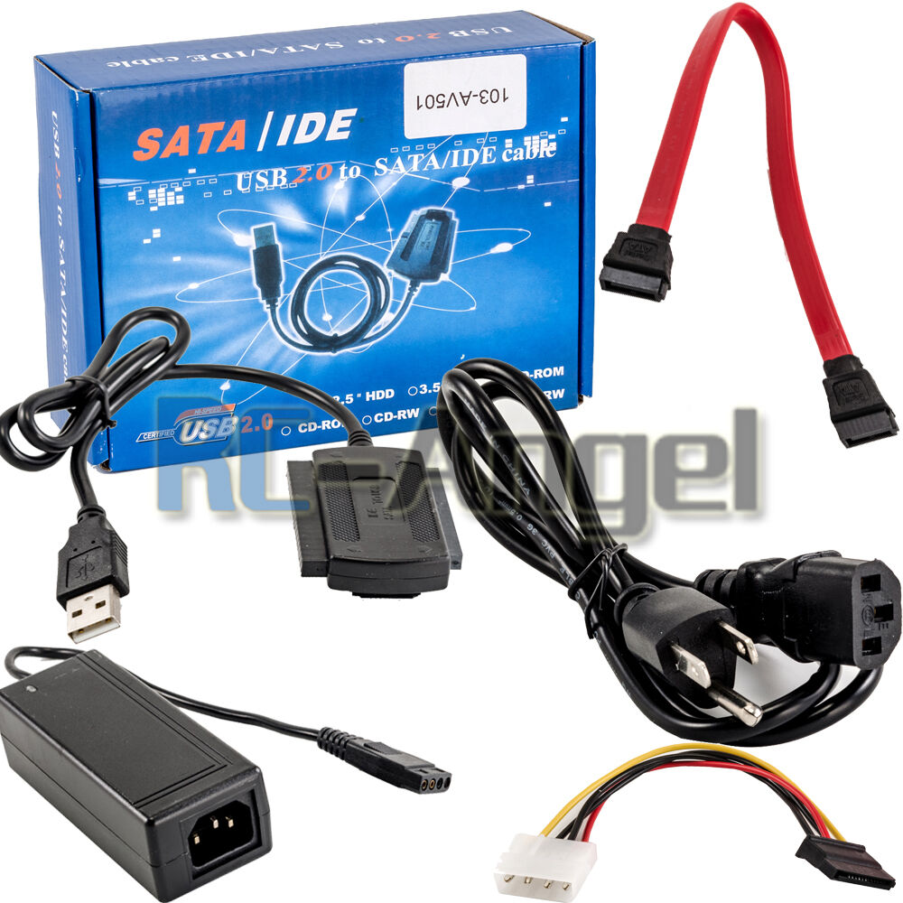 Usb 2 0 To Sata Pata Ide 2 5 Quot 3 5 Quot Hdd Ssd Hard Drive