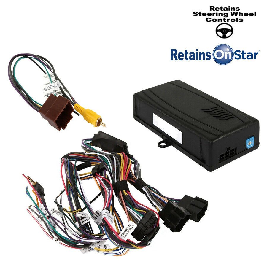 Radio Replacement Wire Harness Interface For Gm Onstar Bose Aftermarket Seat Wiring Amplifier Xm Chimes Ebay