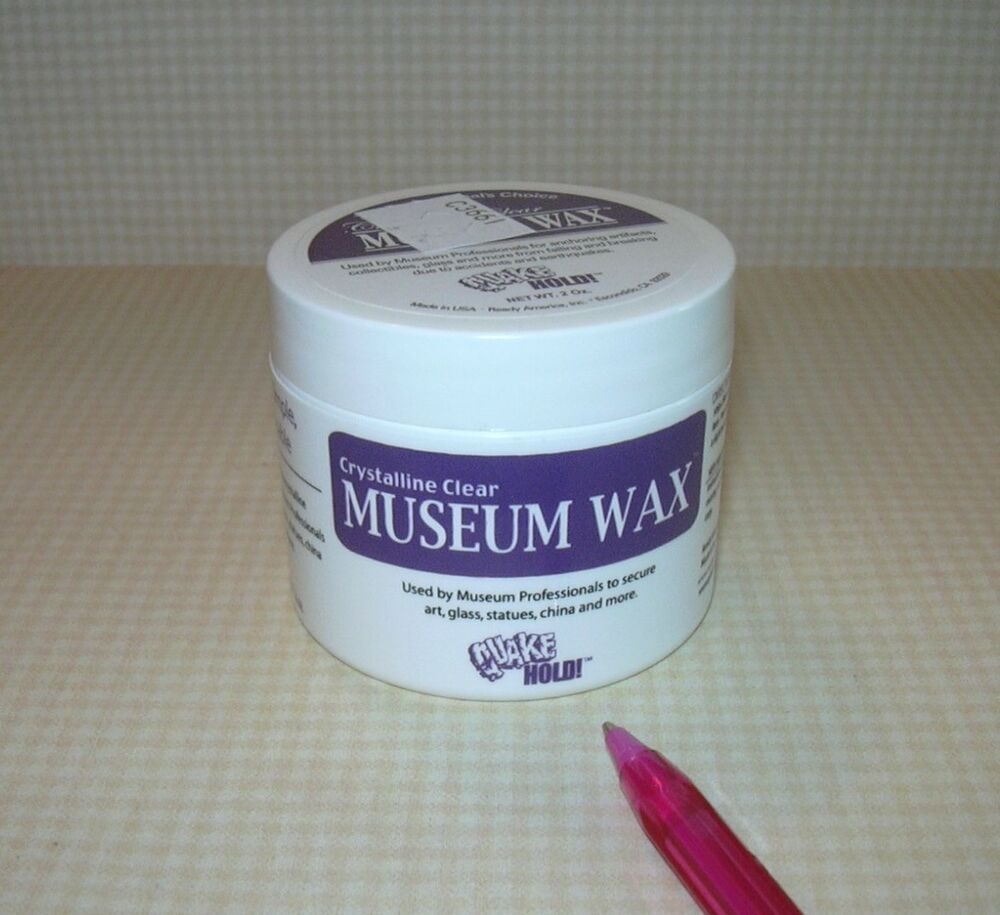 """Museum Wax"" Adhesive For Securing Stabilizing DOLLHOUSE"
