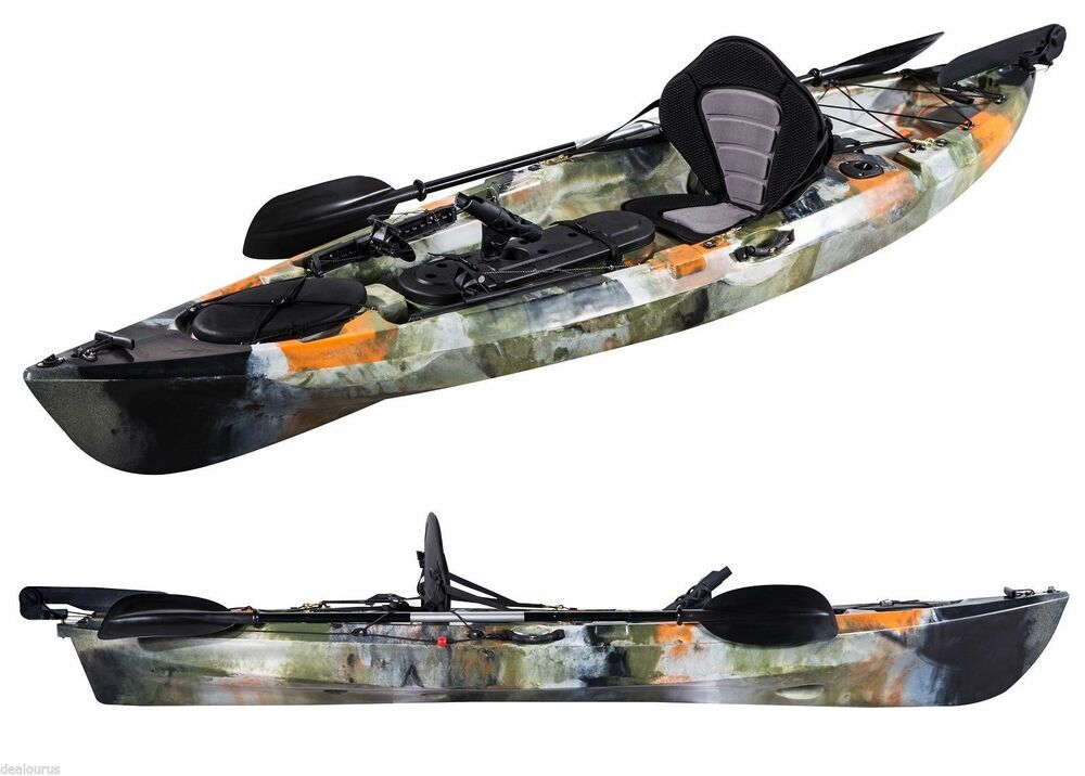 Pro dace angler prowler single ocean fishing kayak sea for Sea fishing kayak