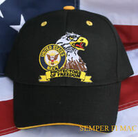 """US NAVY NEW HAT USN CAP SAILOR CHIEF OFFICER USS WOWNH USN NS NAS NAF WOW L@@K"""")"""