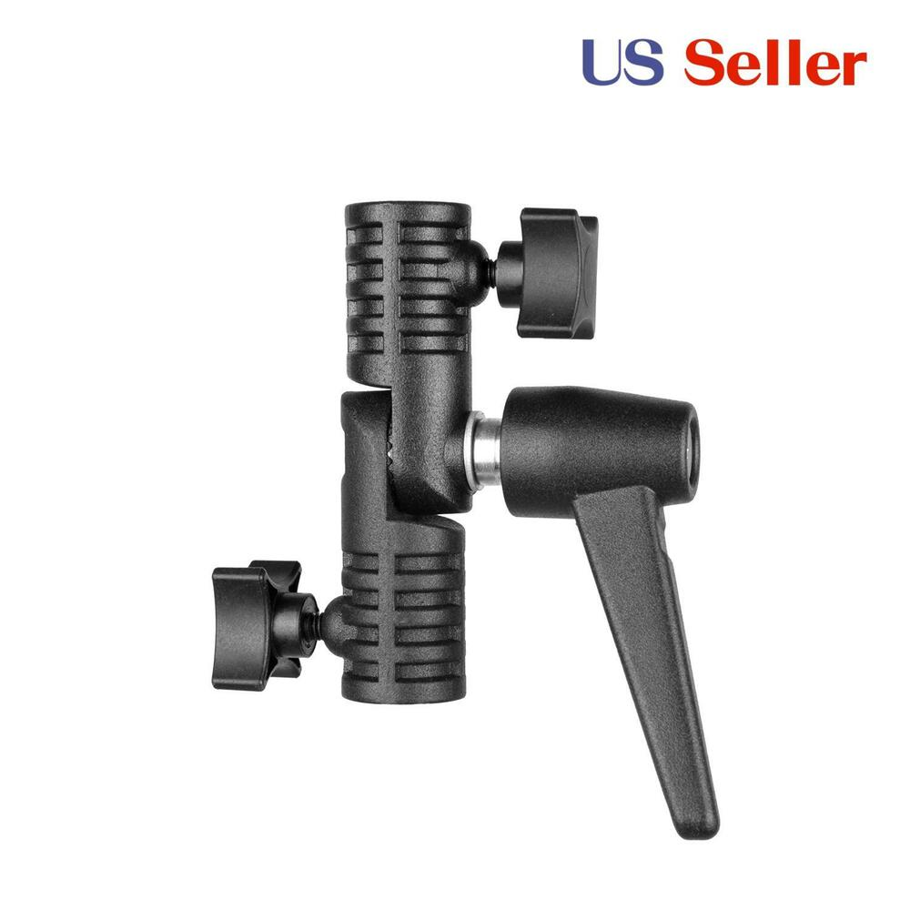 Light Stand Pole: Light Stand Clamp Boom Arm Adapter Grip For Extension Pole