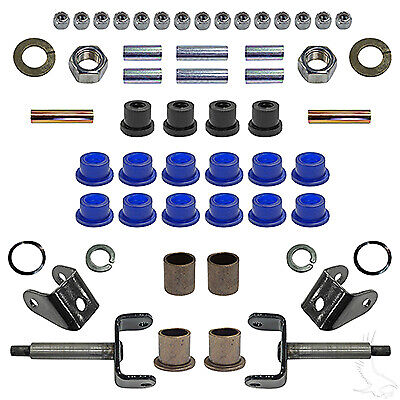 Club Car Ds Golf Cart Front End Repair Kit King Pin Bushing  U0026 More 93