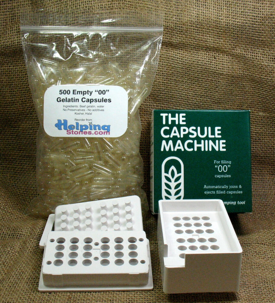 the capsule filler machine