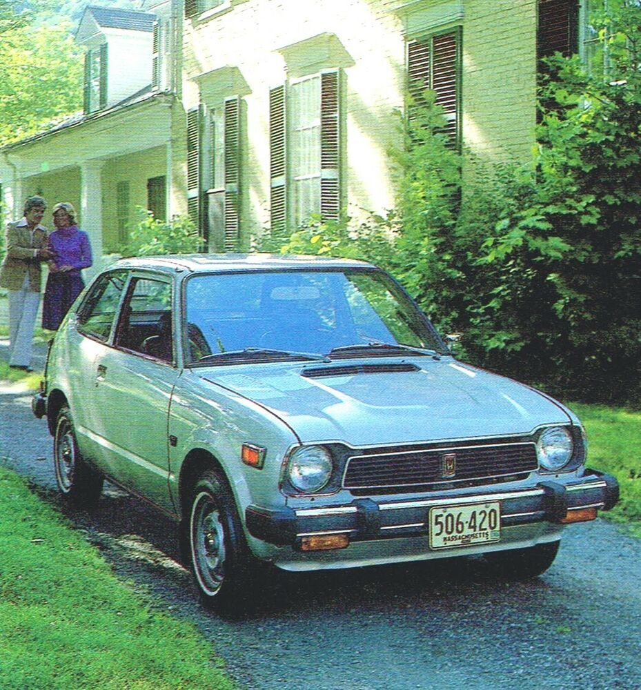 1978 honda brochure catalog accord cvcc station wagon for 1978 honda civic