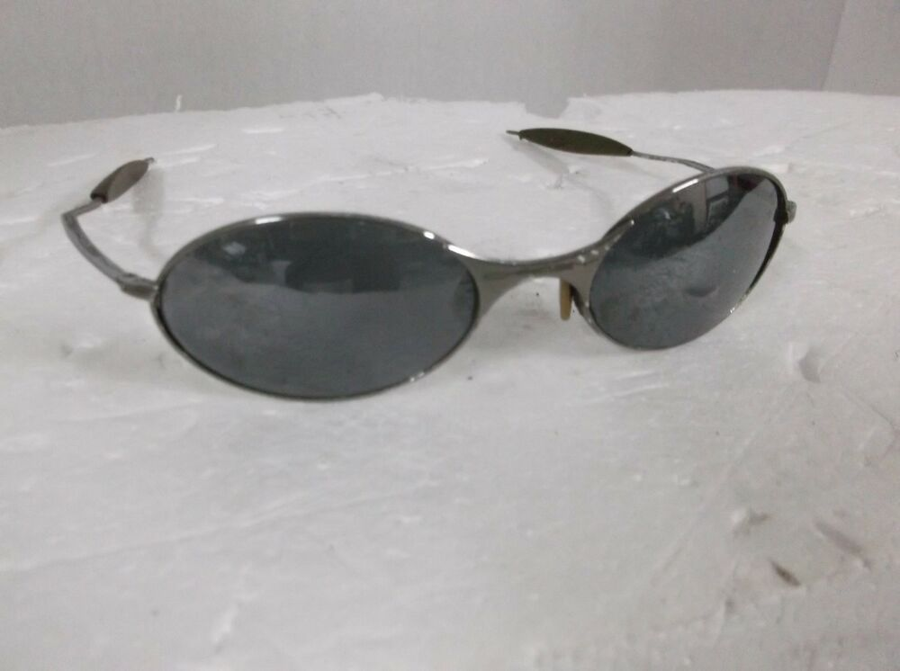True Vintage Oakley Sunglasses Metal Frame Ebay
