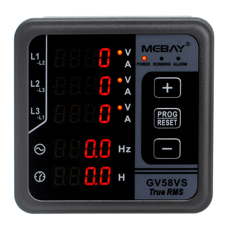 Amplifier Frequency Counter : Gv digital multi function meter amp volt frequency
