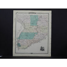 Wisconsin, Map 1881, Crawford or Ripon County L23#47