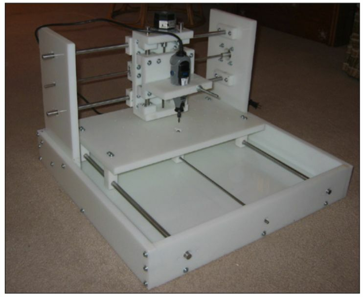 Cnc router plans build your own cnc machine plans only for Home built router