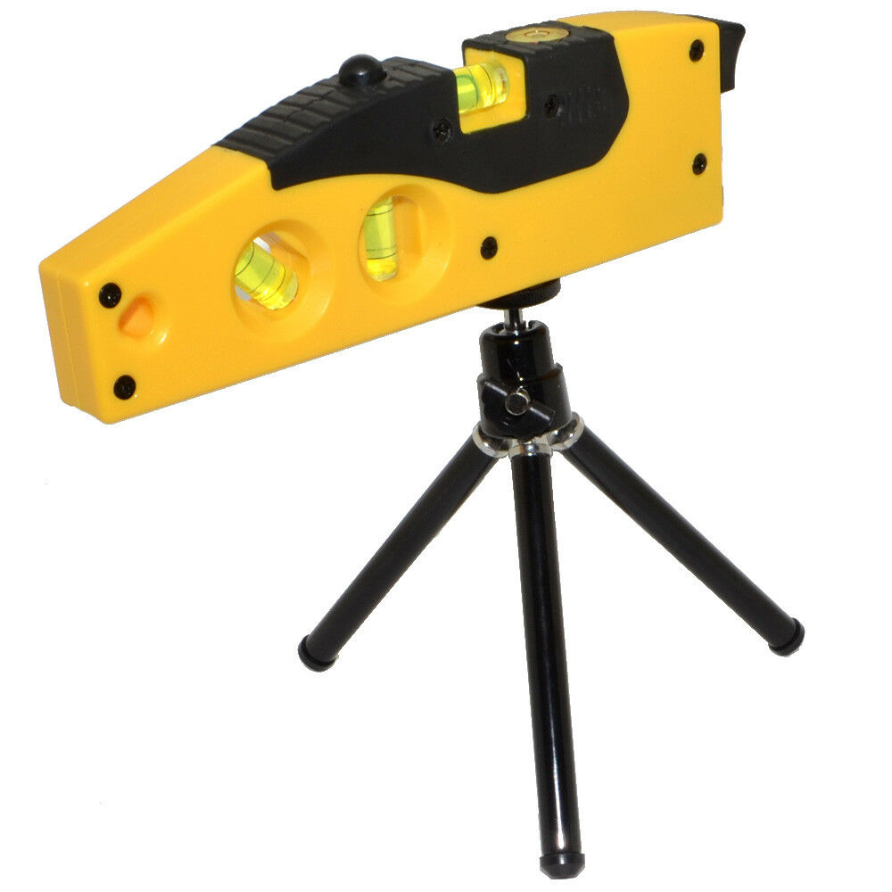 crosshair laser level measure tool with tripod rotary. Black Bedroom Furniture Sets. Home Design Ideas