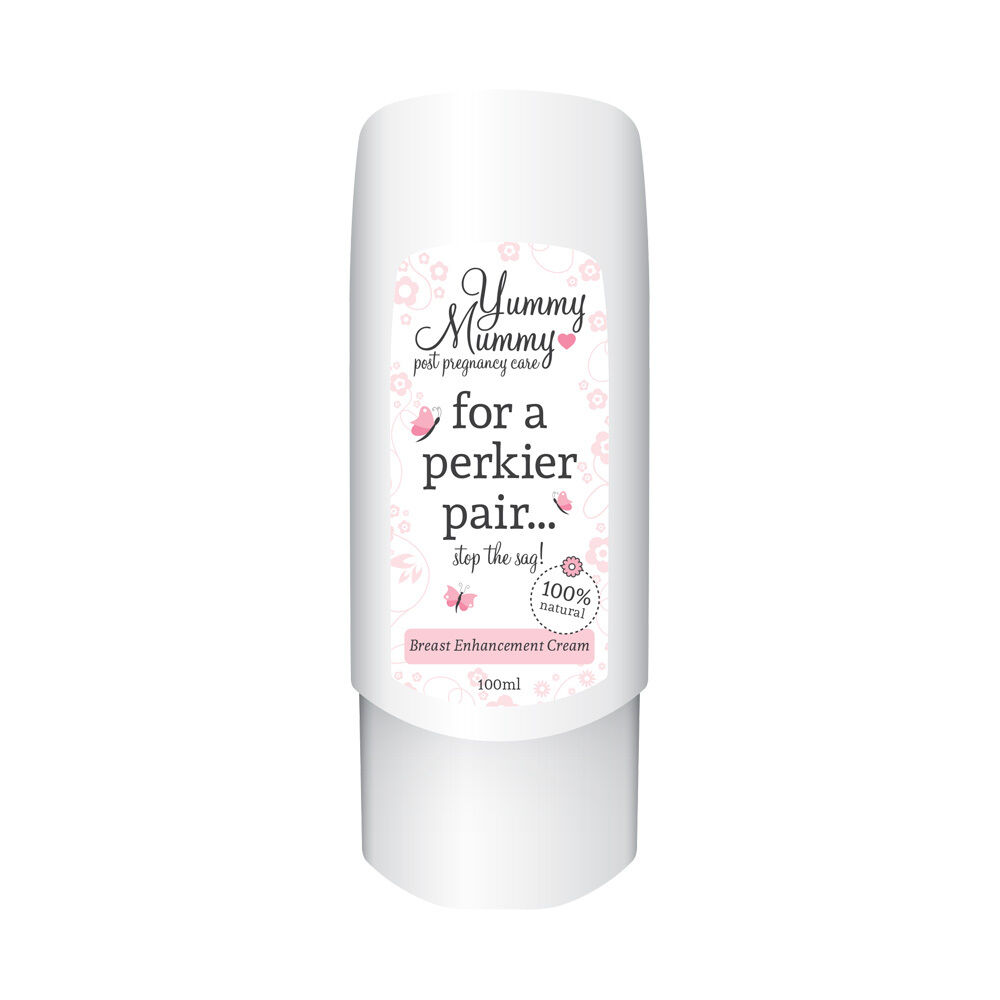 Details about YUMMY MUMMY POST PREGNANCY CREAM STOP SAGGY BOOB INCREASE PERT  & VOLUME