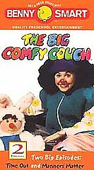 Benny Smart Big Comfy Couch Time Out Manners Matter Vhs Video New 743452057634 Ebay
