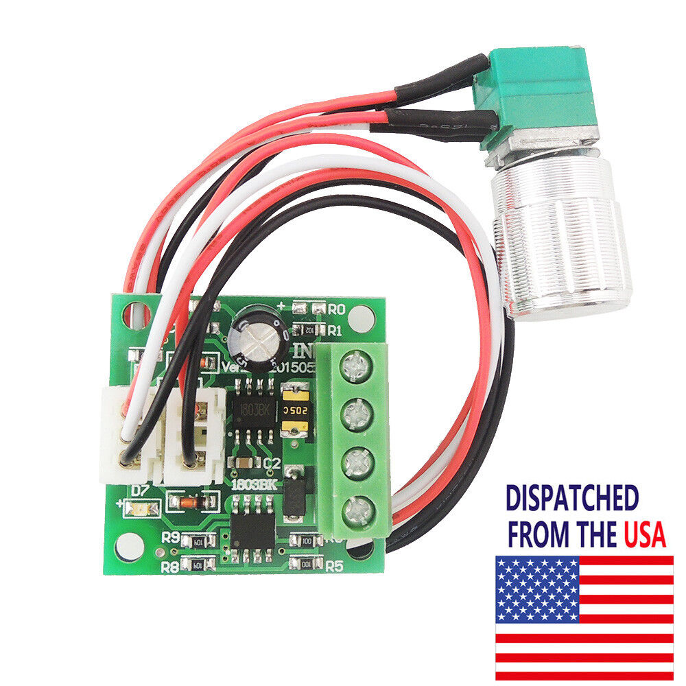 Mini dc motor speed controller pwm adjustable variable for How to make a variable speed motor