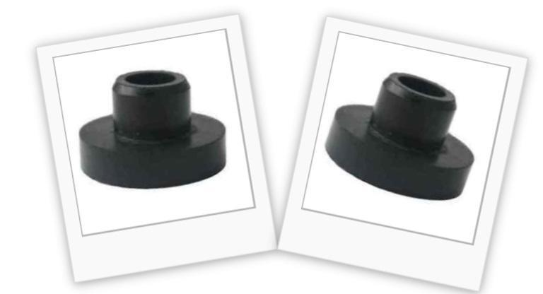 2 Pack Lot Universal Gas Fuel Tank Grommet Lawn Mower