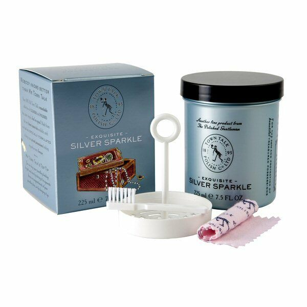 town talk exquisite silver sparkle jewelry cleaner