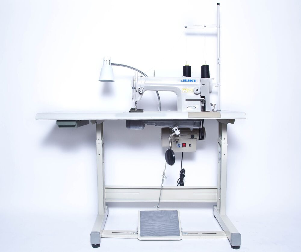 Juki Ddl 8700 Sewing Machine With Servo Motor Stand Amp Led