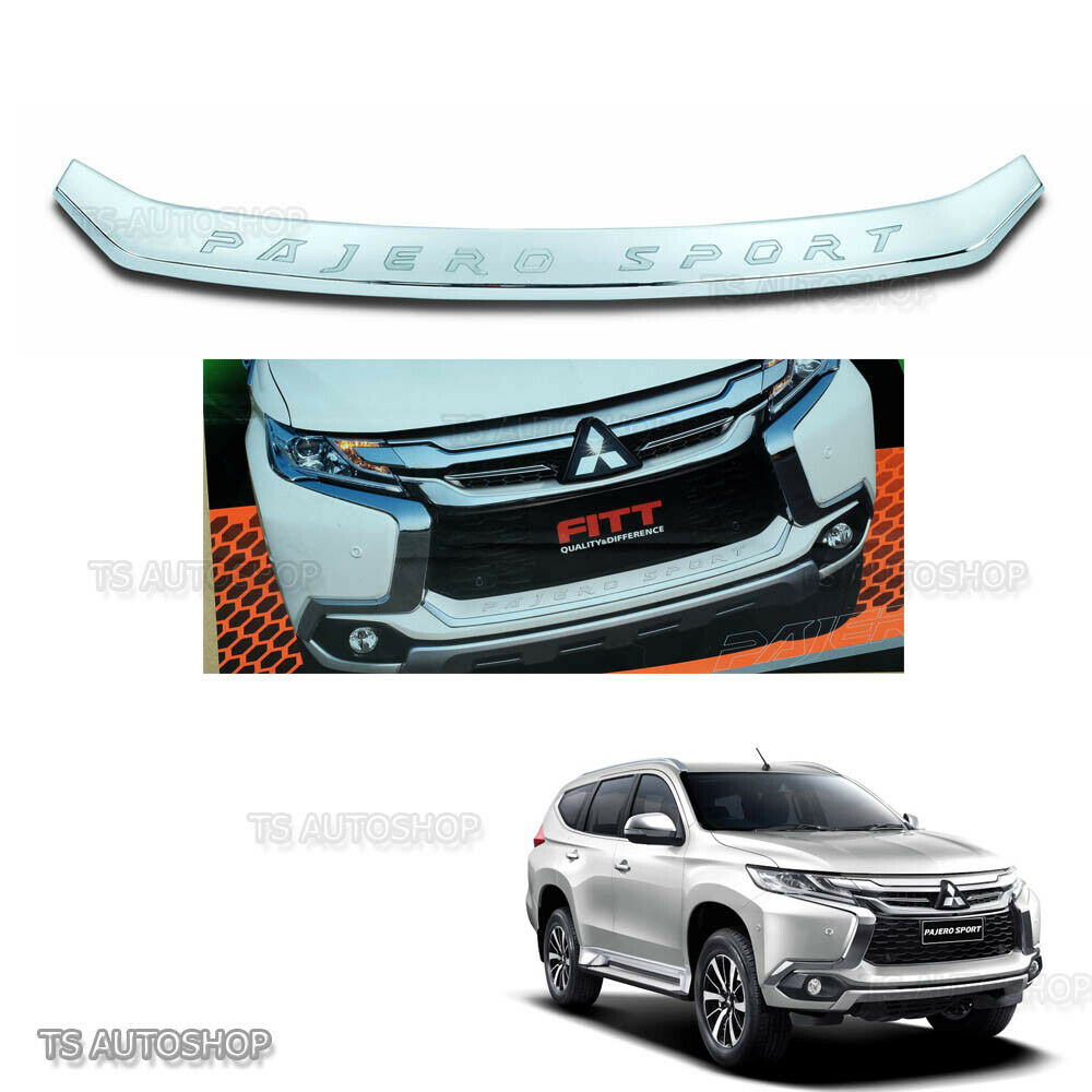 Mitsubishi Sports Car List: For Mitsubishi Pajero Montero Sport 2016 Fitt Chrome Front