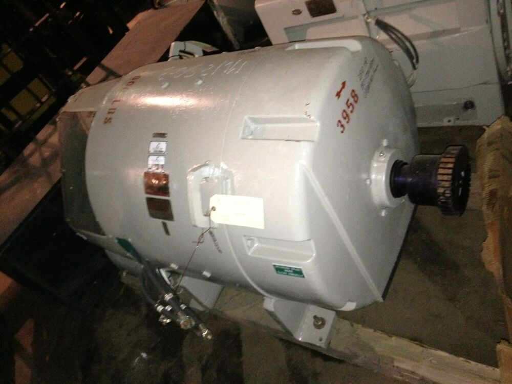 Reconditioned Ge Kinamatic Dc Motor 250 Hp 240 V 1150 Rpm