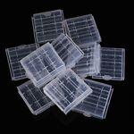 10x Plastic Case Holder Storage Box Cover for Rechargeable AA AAA Batteries N3