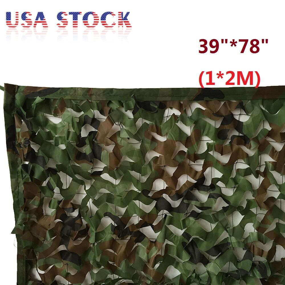 1 2m 39 Quot 78 Quot Woodland Camouflage Net Camo Military