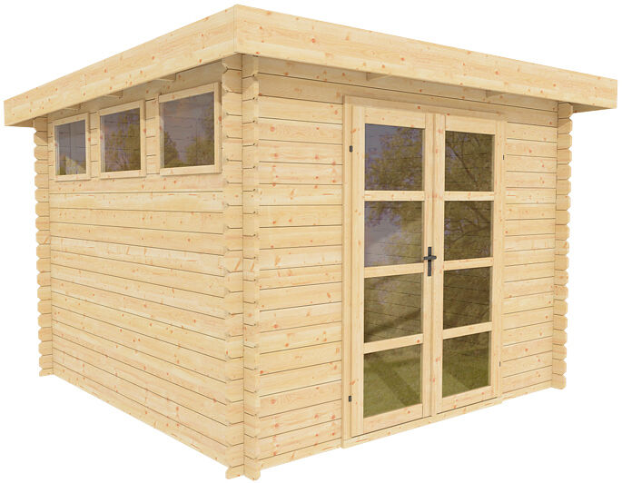 10 39 x10 39 storage shed garden modern shed pool house for Garden shed 10x10
