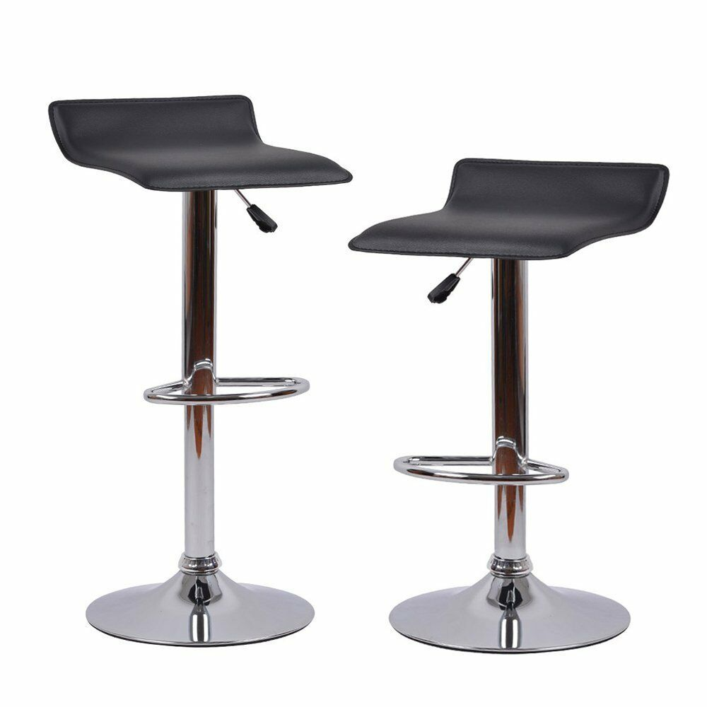 Homall modern bar stool counter height barstools for home kitchen set of 2 ebay - Average height of bar stools ...